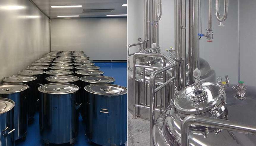 生产废水系统现场制罐