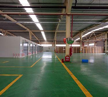 合肥中建材新能源彩板辅房深加工项目