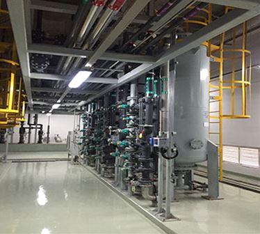 重庆超硅半导体有限公司纯废水系统威廉希尔app